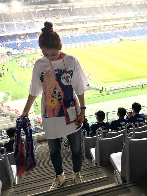 サッカー観戦コーデ4