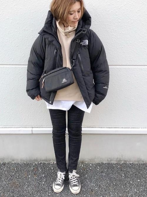 冬の着痩せにおすすめのコーデ