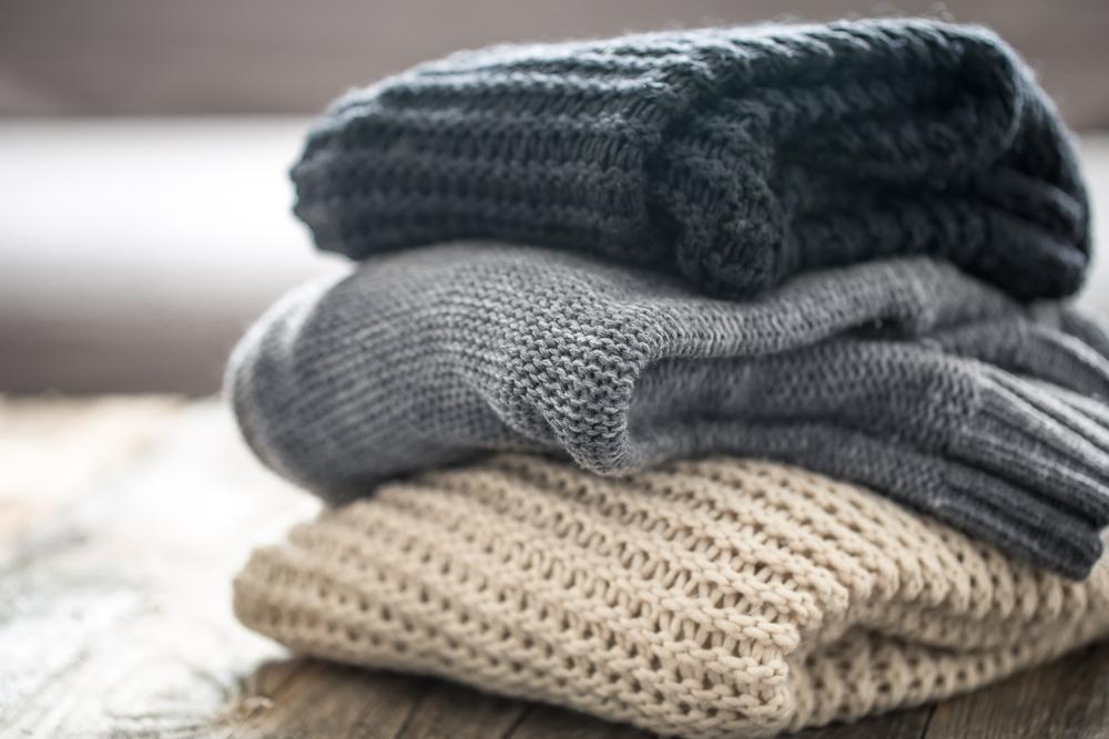 色々な編み方のセーター
