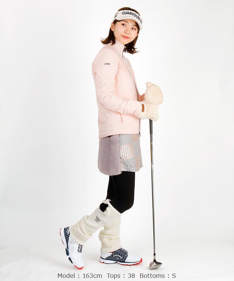 ダウンジャケットを使った真冬ゴルフの服装