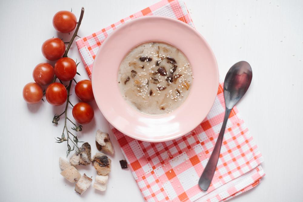 ダイエットに効果的なきのこスープ