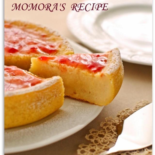 ホットケーキミックスと炊飯器で簡単お菓子♡ジャムでお手軽ヘルシー苺ヨーグルトケーキ 母の日にものレシピ