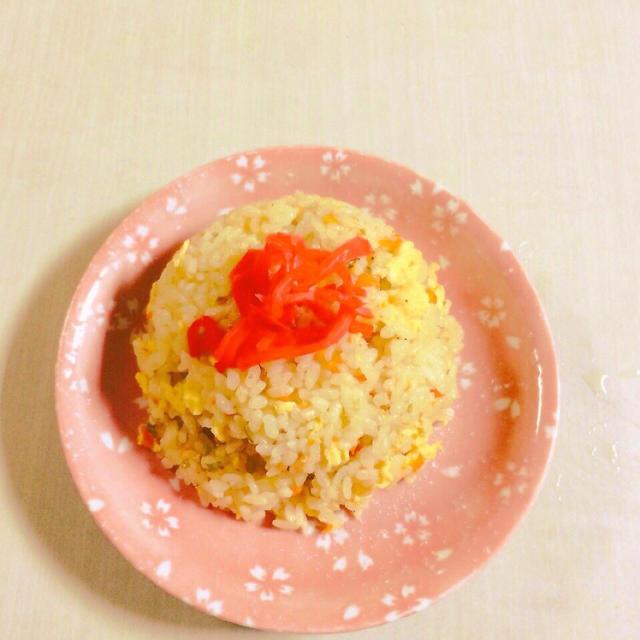 炊飯器でパラパラ炒飯のレシピ