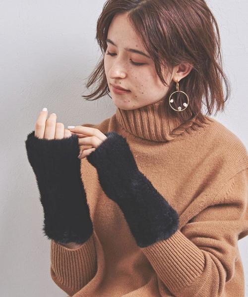 人気のデザインのフィンガーレスの手袋