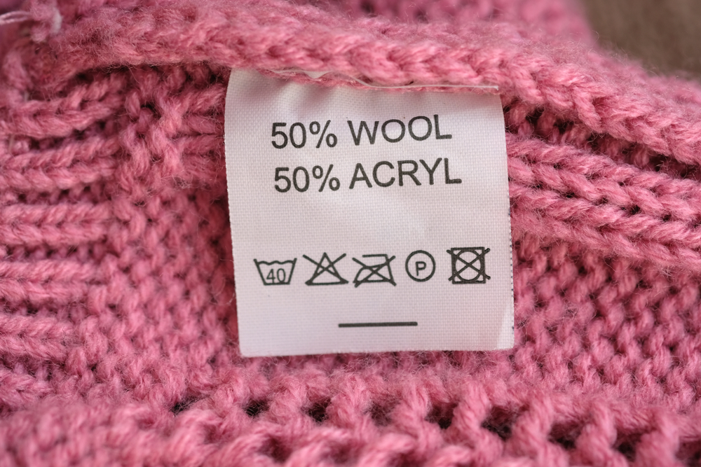 電気毛布の洗濯表示
