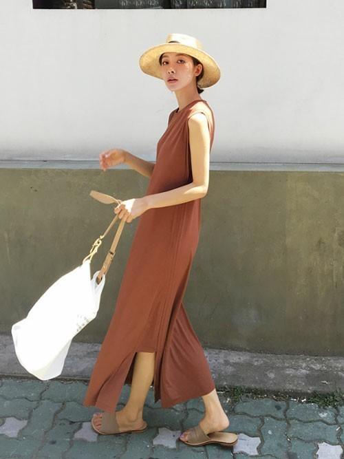 ワンピースを使ったバリ島の服装