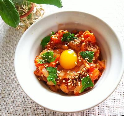 キムチ納豆のレシピ