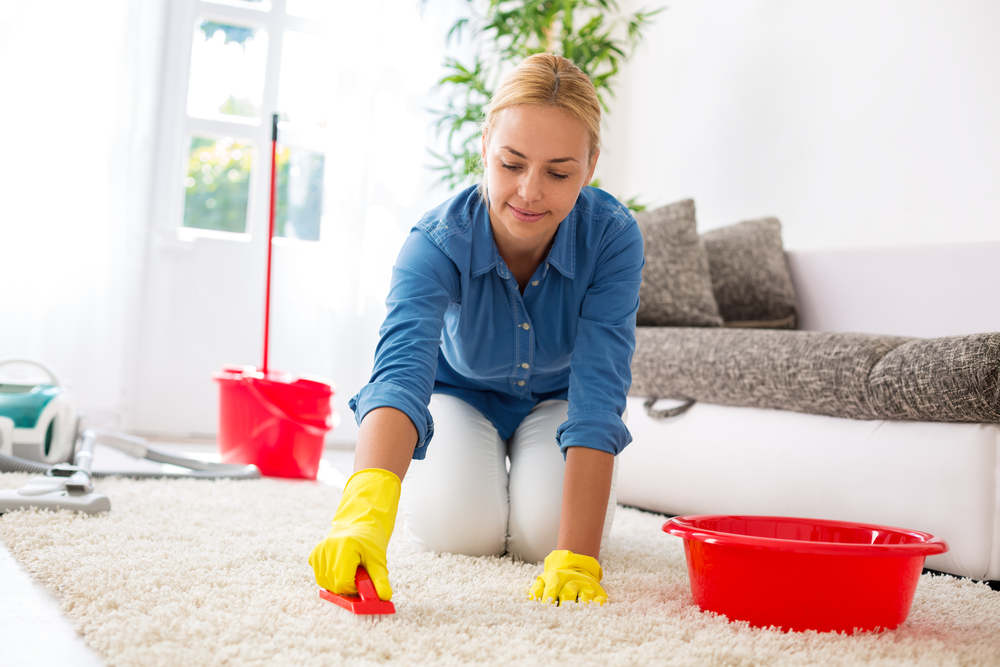 引っ越し前の掃除