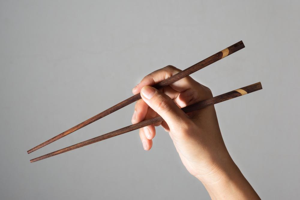 お箸の使い方
