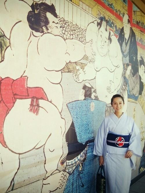 相撲観戦におすすめの着物コーデ