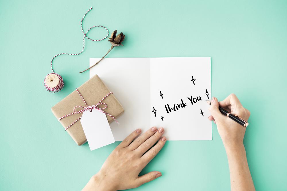 お礼の手紙とプレゼント