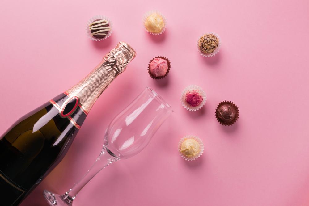 お酒とチョコレート