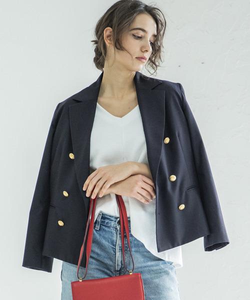 流行りの「ダブルジャケット」を使ったジャケットコーデ