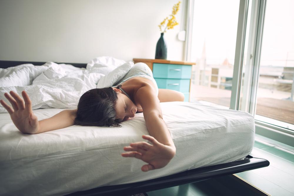 寝起きが悪い女性