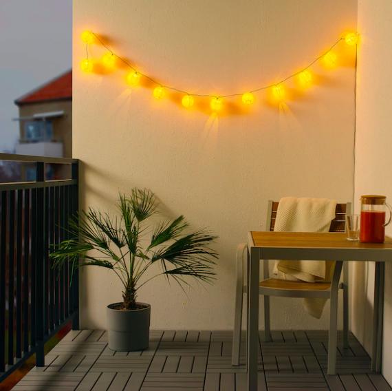 IKEA(イケア) SOLVINDEN ソルヴィンデン LEDライトチェーン