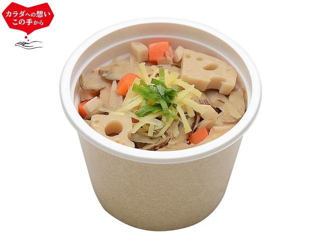 セブンイレブン 根菜たっぷり!10品目の生姜スープ