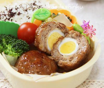 卵ハンバーグ