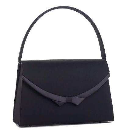 黒ハンドバッグの写真