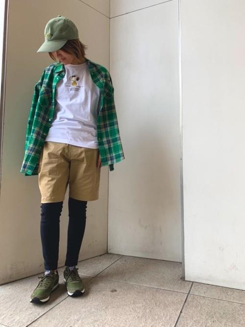 レギンスを使ったウーバーイーツの服装