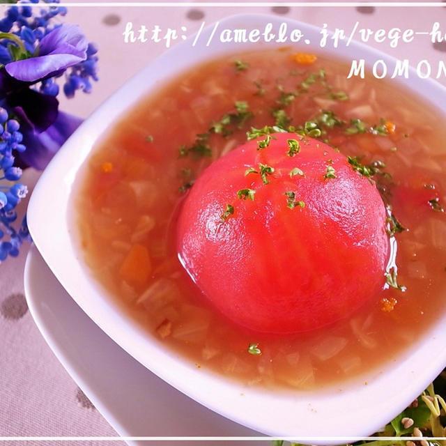 丸ごとトマトポタージュスープ