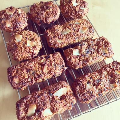 オートミールのクッキーのレシピ