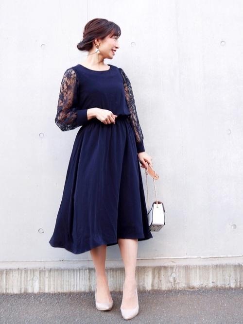 ドレスを使った定期演奏会の服装