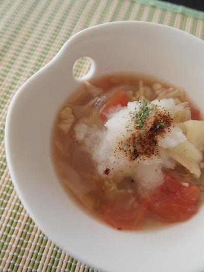 春から夏の脂肪燃焼スープのレシピ