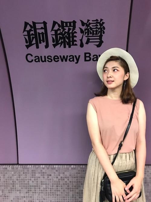 秋の香港コーデ