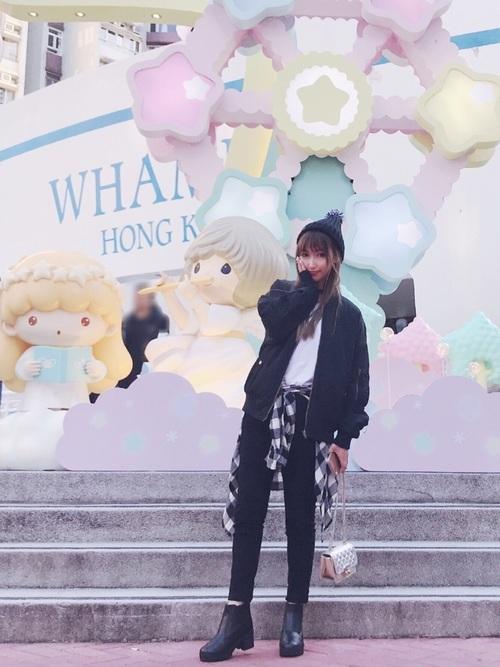 冬の香港コーデ