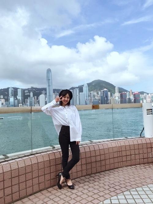 夏の香港コーデ