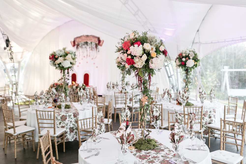 雨の日の結婚式