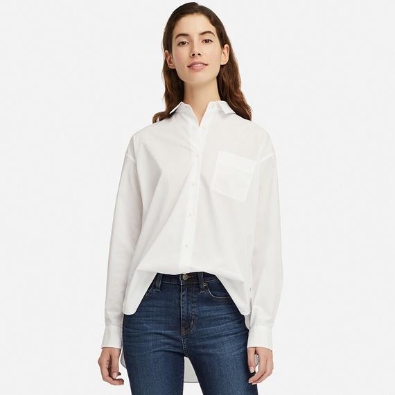 UNIQLO エクストラファインコットンシャツ(長袖)