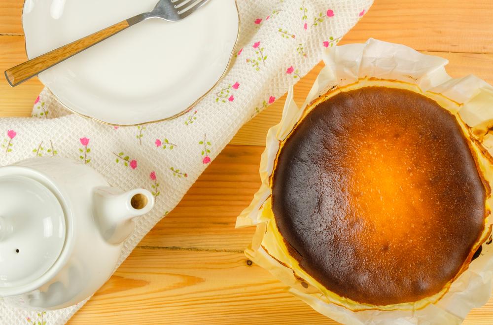 作り方が比較的簡単でおいしいバスクチーズケーキ