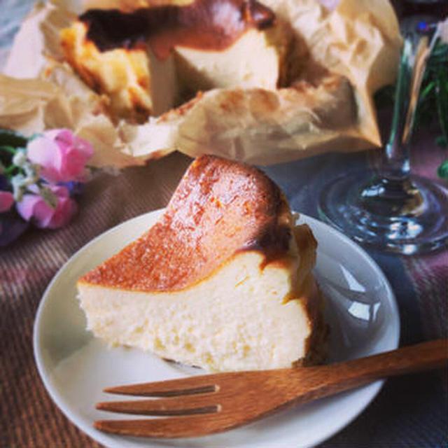 バスクチーズケーキ バスチーのレシピ
