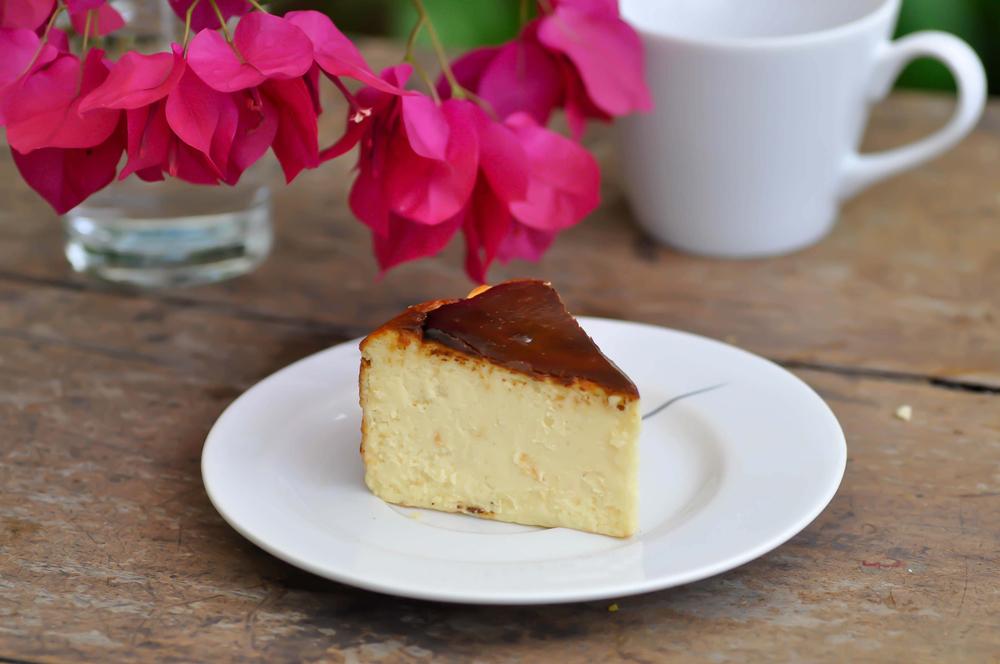 作り方が比較的簡単なバスクチーズケーキ