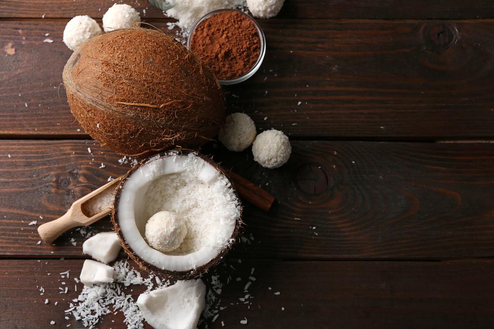 スーパーフードのココナッツやカカオ