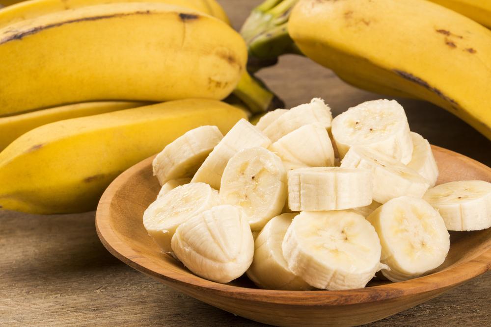 バナナとお皿