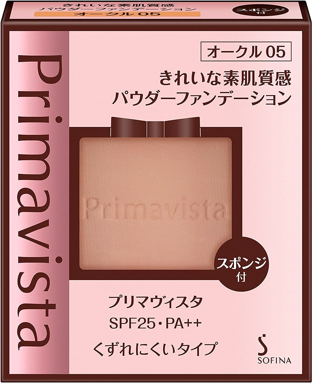 Primavista(プリマヴィスタ):きれいな素肌質感パウダーファンデーション