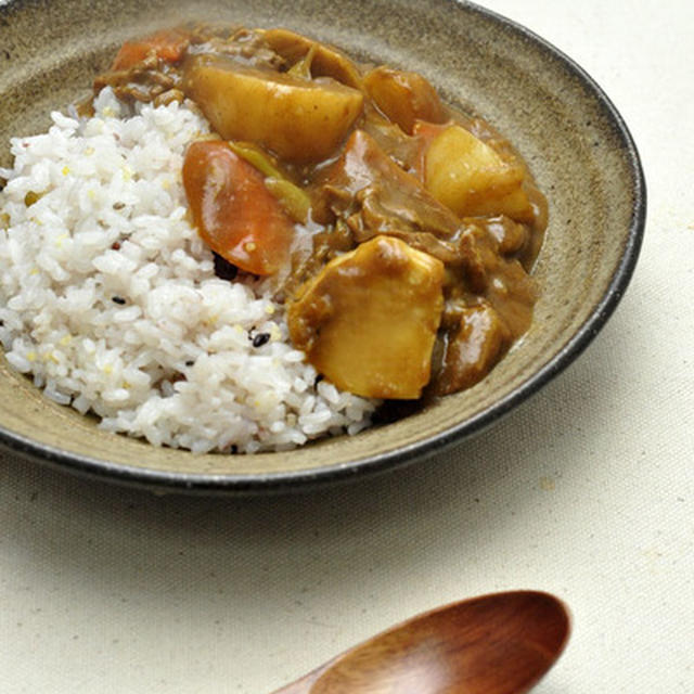 冬野菜のビーフカレーのレシピ
