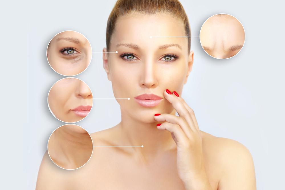 肌の老化を気にしている女性