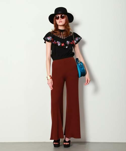 70年代ファッションコーデ