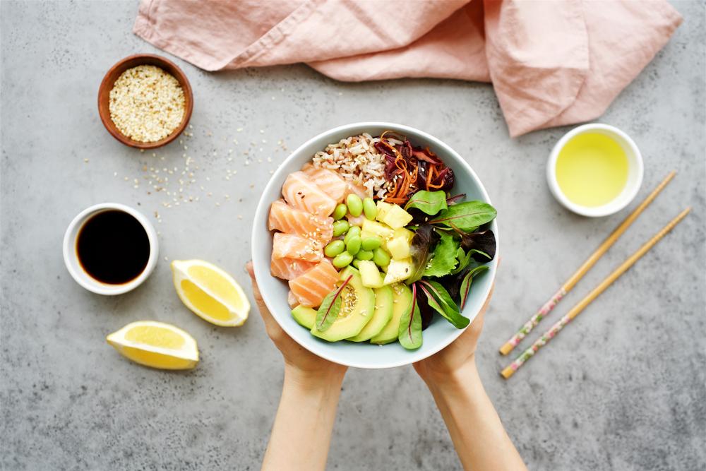 栄養価の高い食事