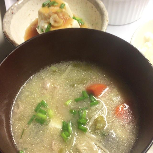具沢山関西風豚汁のレシピ