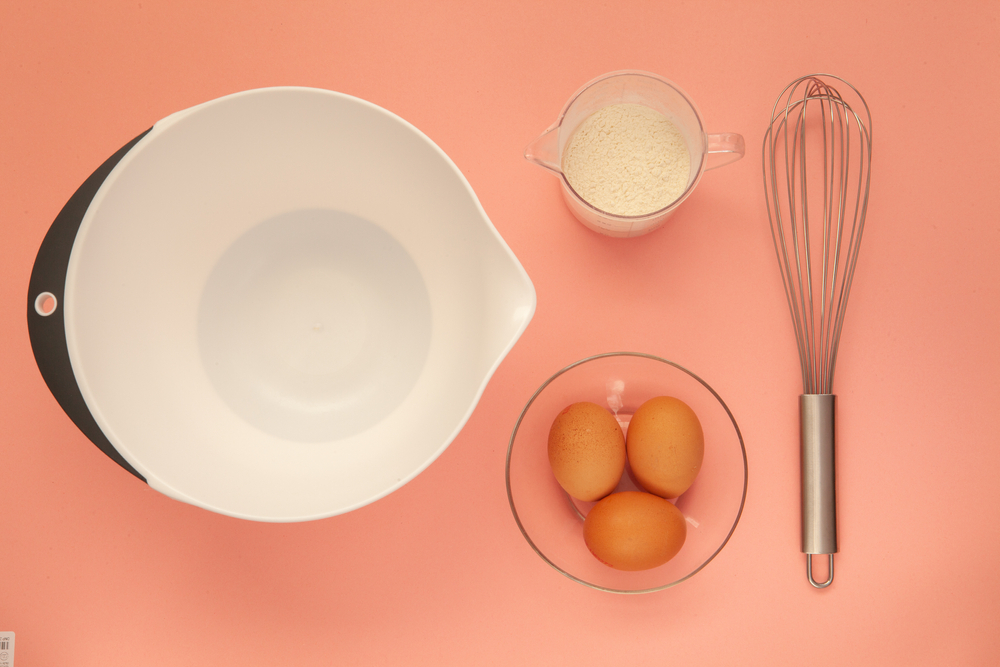 パンケーキの材料や使用する道具