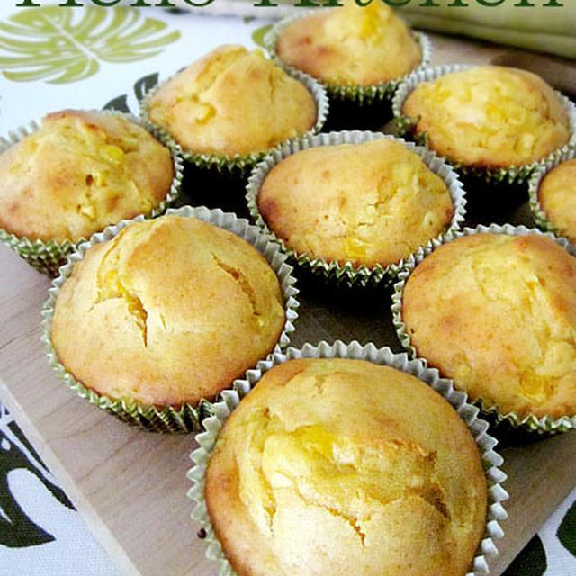 パンケーキミックスで作るコーンマフィンのレシピ