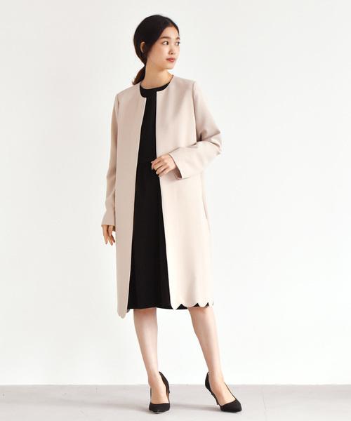 冬の結婚式におすすめの色を使ったコート