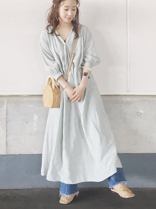 ワンピースを使った江ノ島デートの服装