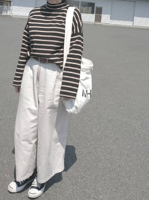 ジャックパーセルを使ったグランジファッション