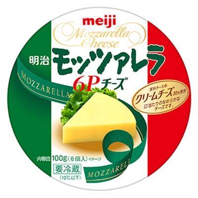 meiji(メイジ) 明治モッツァレラ6Pチーズ