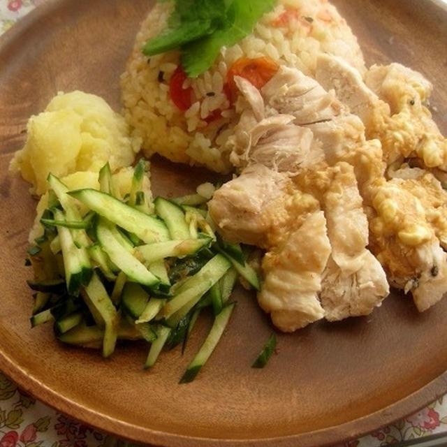 雑穀米のシンガポールライス